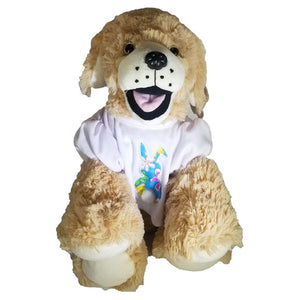 "Stuffed Animals Plush Toy - ""Goldie"" the Lab 16"" - CampWildRide.com"