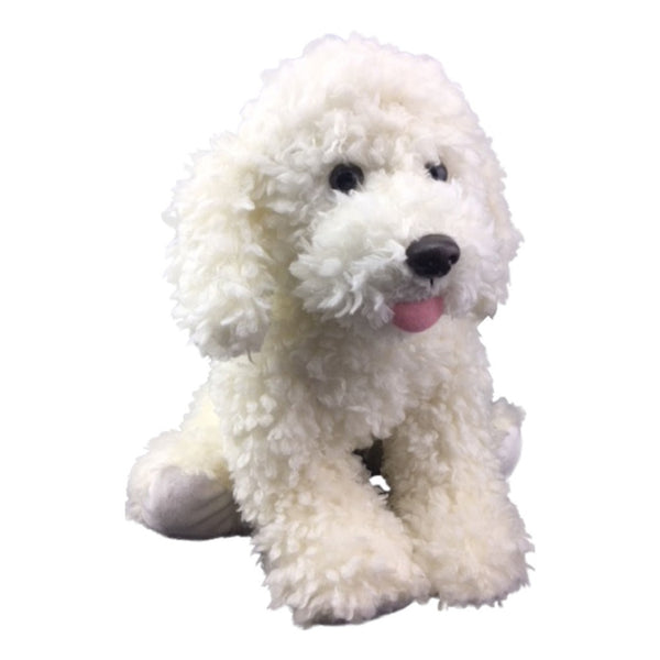 "Stuffed Animals Plush Toy - ""Scruffles"" the Dog 8"""