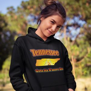 Tennessee Gets Its S'more On! Novelty Hoodies (No-Zip/Pullover)