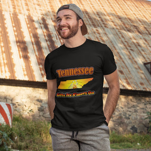 Tennessee Gets Its S'more On! Novelty Short Sleeve T-Shirt