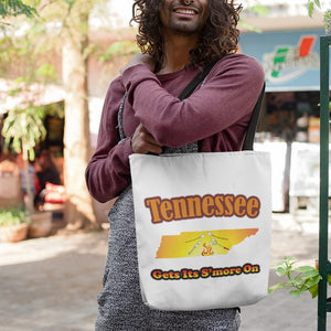 Tennessee Gets Its S'more On! Novelty Funny Tote Bag Reusable