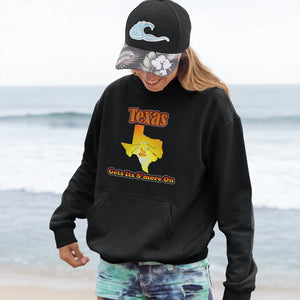 Texas Gets Its S'more On! Novelty Hoodies (No-Zip/Pullover) - CampWildRide.com