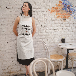 This IS My Camping Apron! Novelty Funny Apron - CampWildRide.com