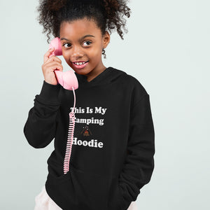 This IS My Camping Hoodie! Novelty Youth Hoodies (No-Zip/Pullover)