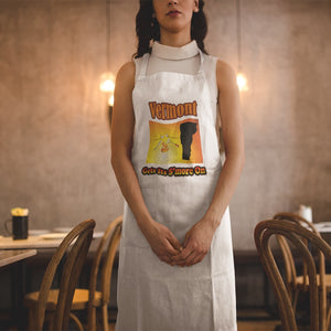 Vermont Gets Its S'more On! Novelty Funny Apron - CampWildRide.com
