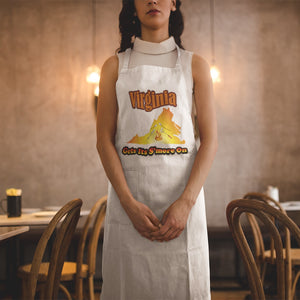Virginia Gets Its S'more On! Novelty Funny Apron - CampWildRide.com