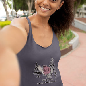 Well I guess that Answers That! Novelty Women's Tank Top T-Shirt - CampWildRide.com