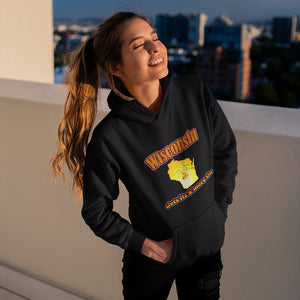 Wisconsin Gets Its S'more On! Novelty Hoodies (No-Zip/Pullover)