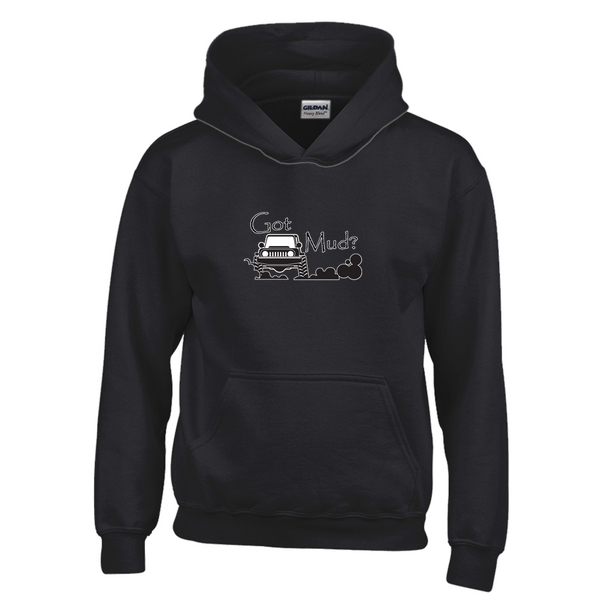Got Mud? Fun with your 4x4! Novelty Youth Hoodies (No-Zip/Pullover)