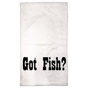 Got Fish Hand Towels - CampWildRide.com