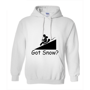 Got Snow? Let it Slide! Novelty Hoodies (No-Zip/Pullover)