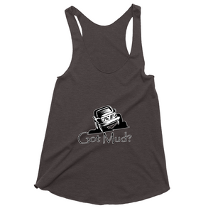 Got Mud? Fun with your Off Road Vehicle! Novelty Women's Tank Top T-Shirt