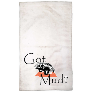 Got Mud? Fun with your Truck! Novelty Funny Hand Towel - CampWildRide.com
