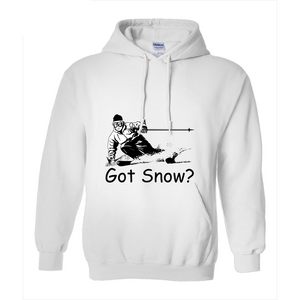 Got Snow? Tearing up the Powder! Novelty Hoodies (No-Zip/Pullover) - CampWildRide.com