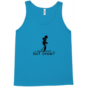 Got Snow? Having Fun on the Slopes! Novelty Tank Top T-Shirt - CampWildRide.com