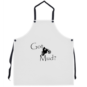 Got Mud? Fun on a Motorcycle! Novelty Funny Apron - CampWildRide.com