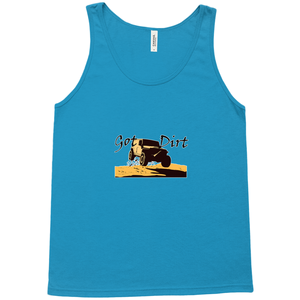 Got Dirt? Fun with your 4WD! Novelty Tank Top T-Shirt - CampWildRide.com