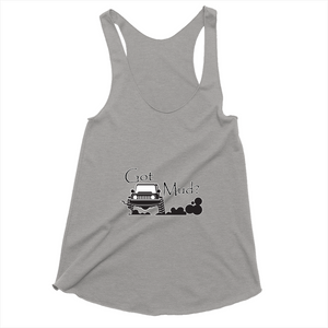 Got Mud? Fun with your 4x4! Novelty Women's Tank Top T-Shirt