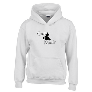 Got Mud? Fun on an ATV! Novelty Youth Hoodies (No-Zip/Pullover) - CampWildRide.com