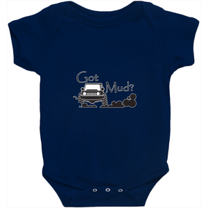 Got Mud? Fun with your 4x4! Novelty Infant One-Piece Baby Bodysuit - CampWildRide.com