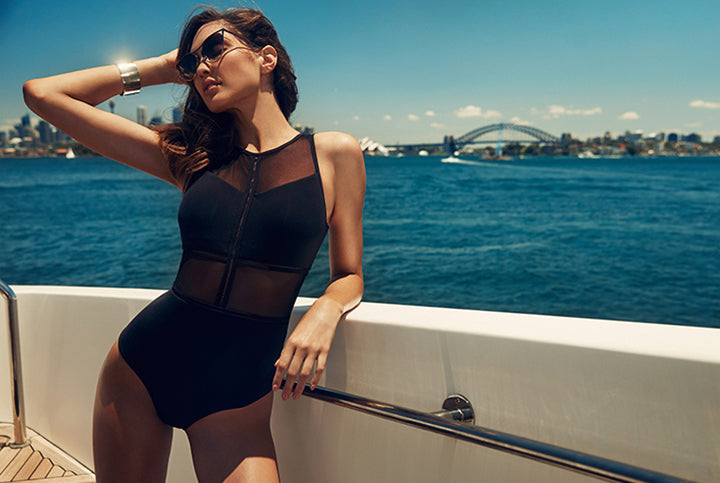 Staff Fave: Aspire High Neck One Piece