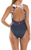 Picturesque High Neck One Piece