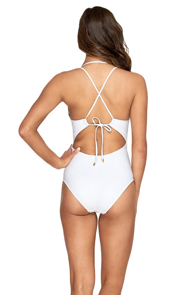 Perspective Plunge One Piece