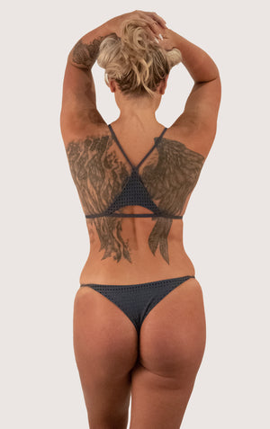 Fins Bottom | Color: Denim mesh