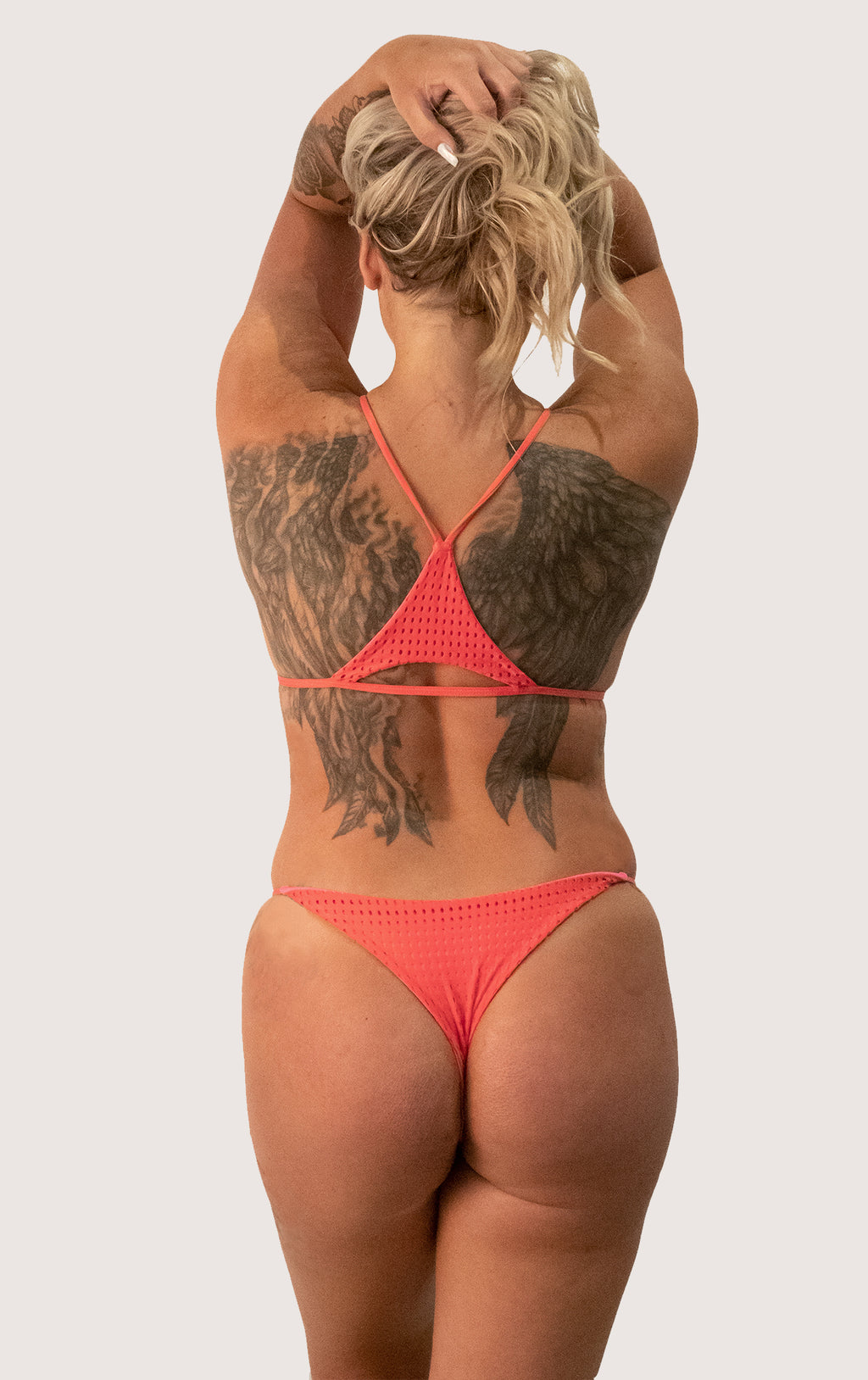 Fins Bottom | Color: Fruit Punch mesh
