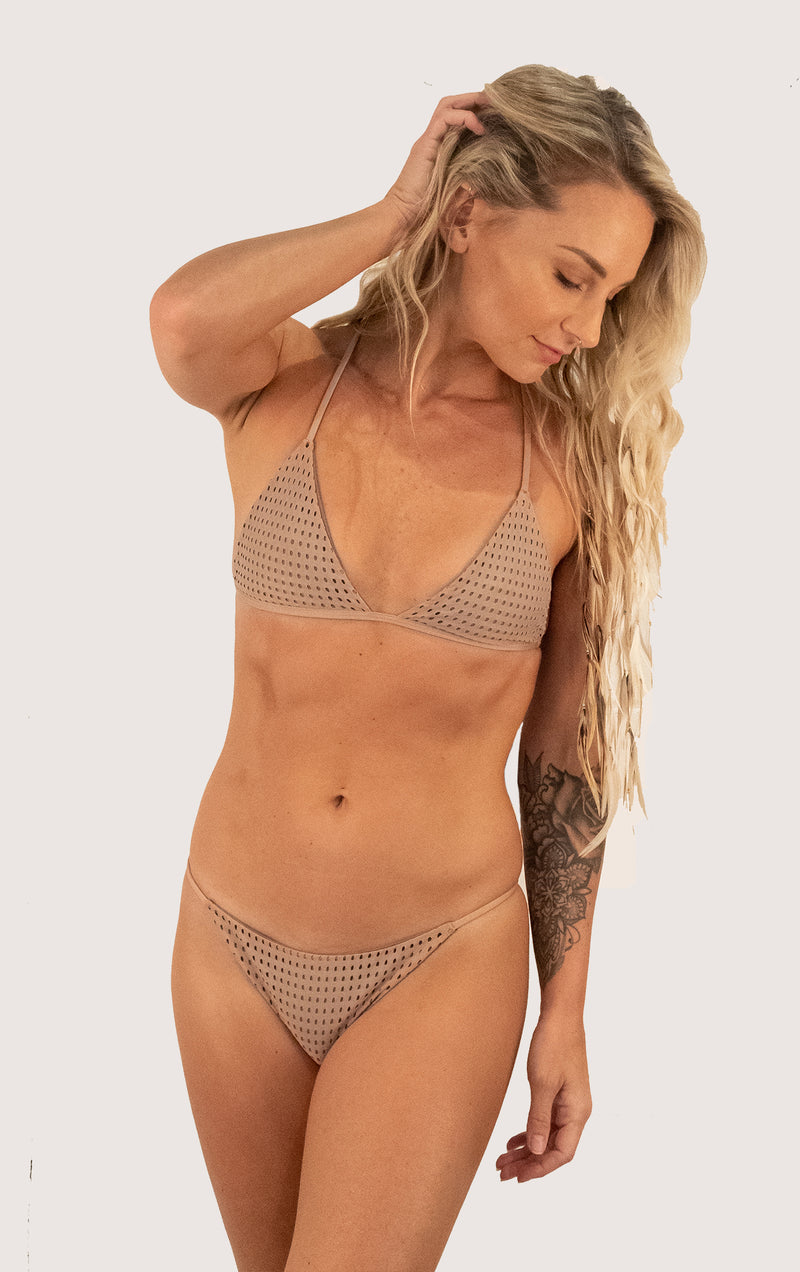 Shaka Top | Color: Mocha mesh
