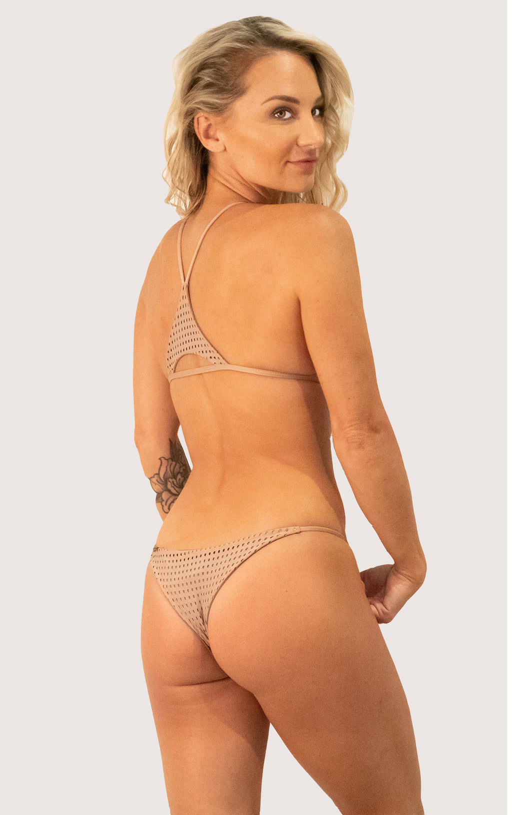 Fins Bottom | Color: Mocha mesh