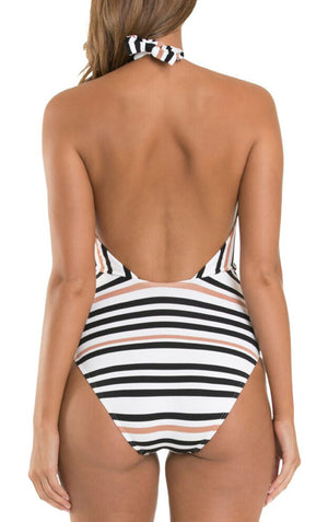 Vista High Neck One Piece