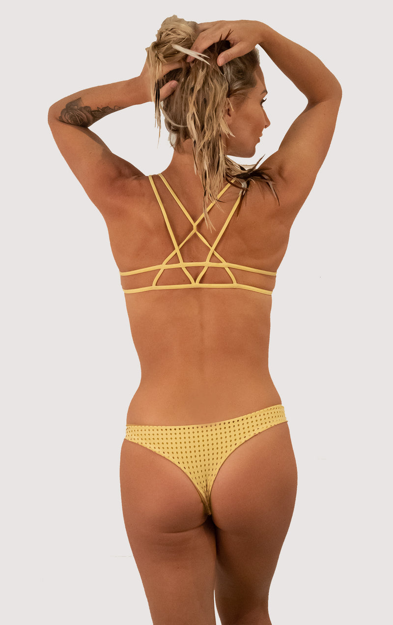 Ho'okipa Bottom | Color: Star Fruit mesh
