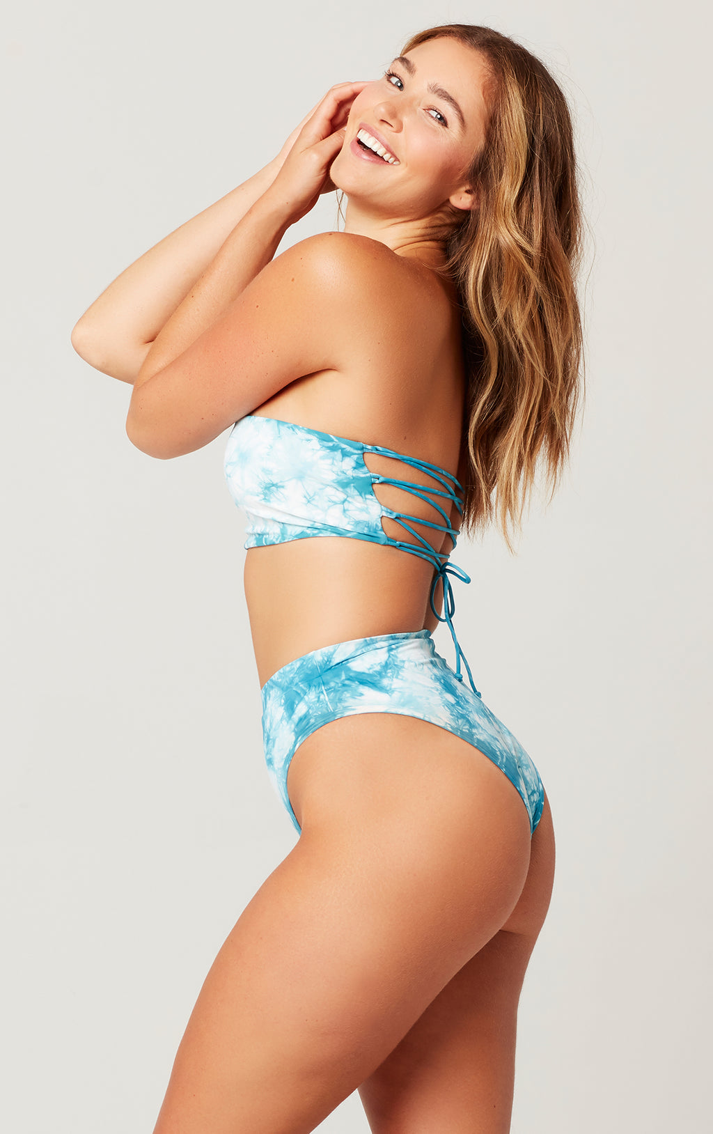 Tie Dye Beach Wave Top
