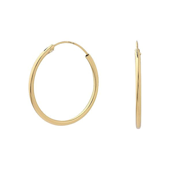 18ct Gold Plated Hoop Earrings Jewellery Amazing Jewelry