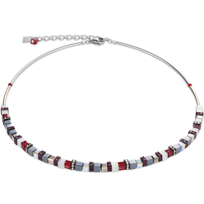 Coeur de Lion Red Hematite Necklace 4977/10-0300 Jewellery Coeur de Lion