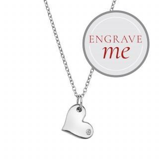 THOUGHTFUL HEART PENDANT Jewellery Hot Diamonds