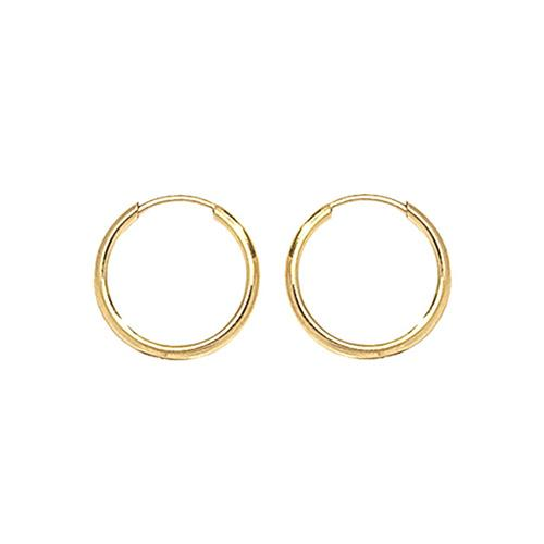 9ct Gold Sleeper Earrings Jewellery Treasure House Limited