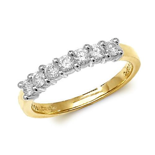 9ct Gold and Diamond Eternity Ring
