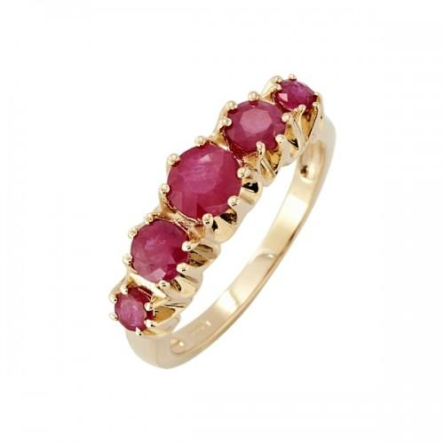 9ct Gold Ruby Ring