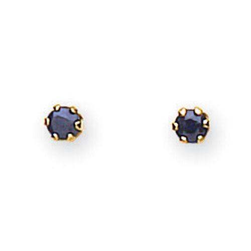 9ct Gold Sapphire Stud Earrings Jewellery JoolsJewellery.co.uk