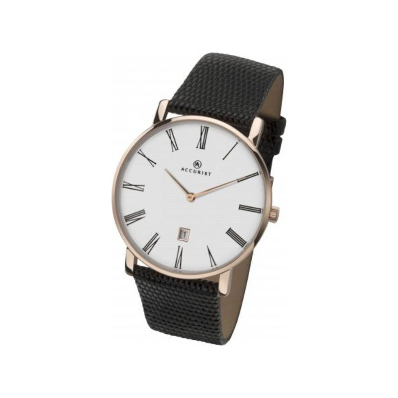 Accurist 7183 Watch in Rose Gold Watches ACCURIST