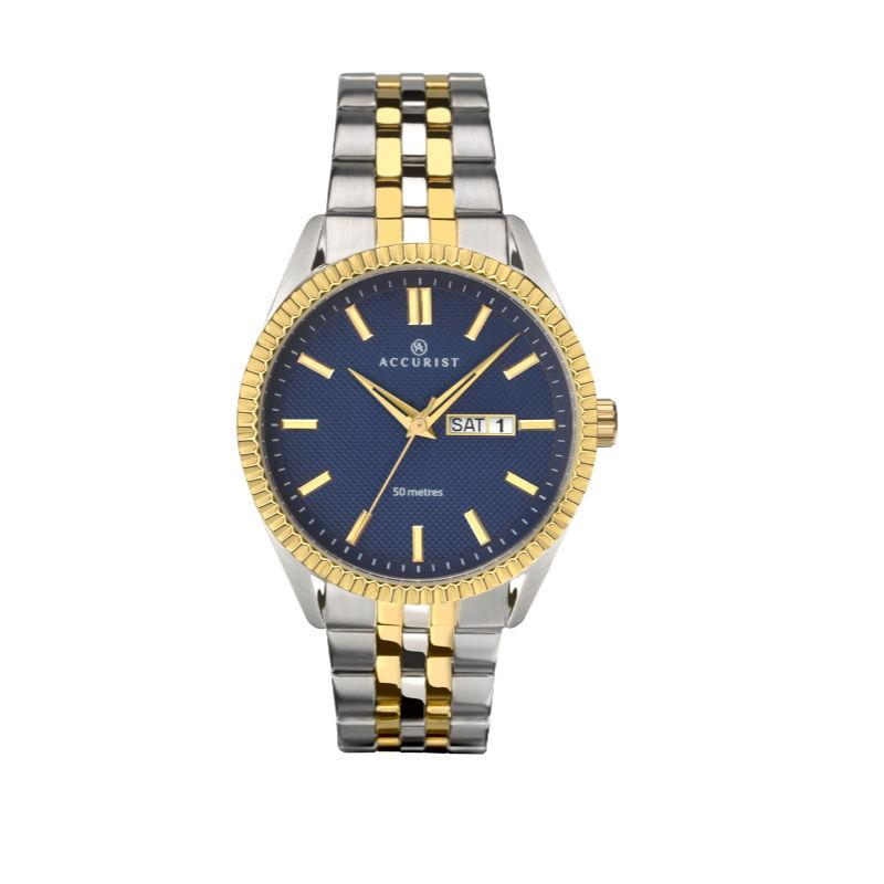Accurist 7226 Two-Tone Men's Watch Watches ACCURIST