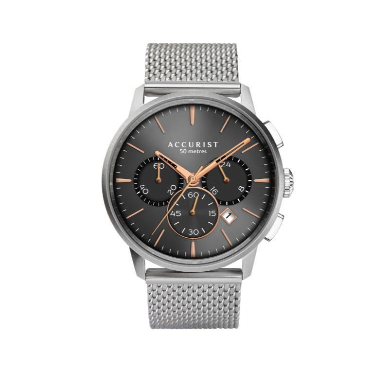 Accurist 7315 Men's Chronograph Watch with Mesh Strap Watches ACCURIST