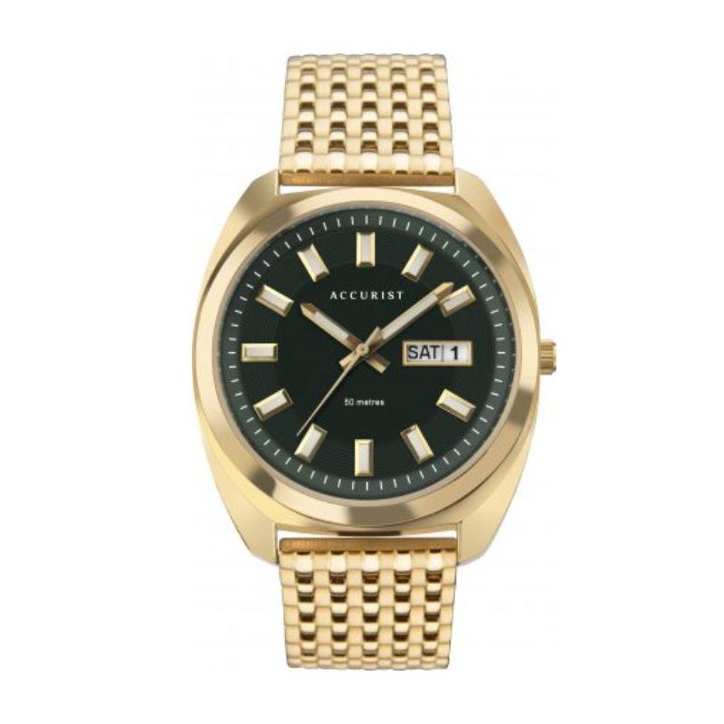 Accurist 7335 Men's Retro Look Watch Watches ACCURIST