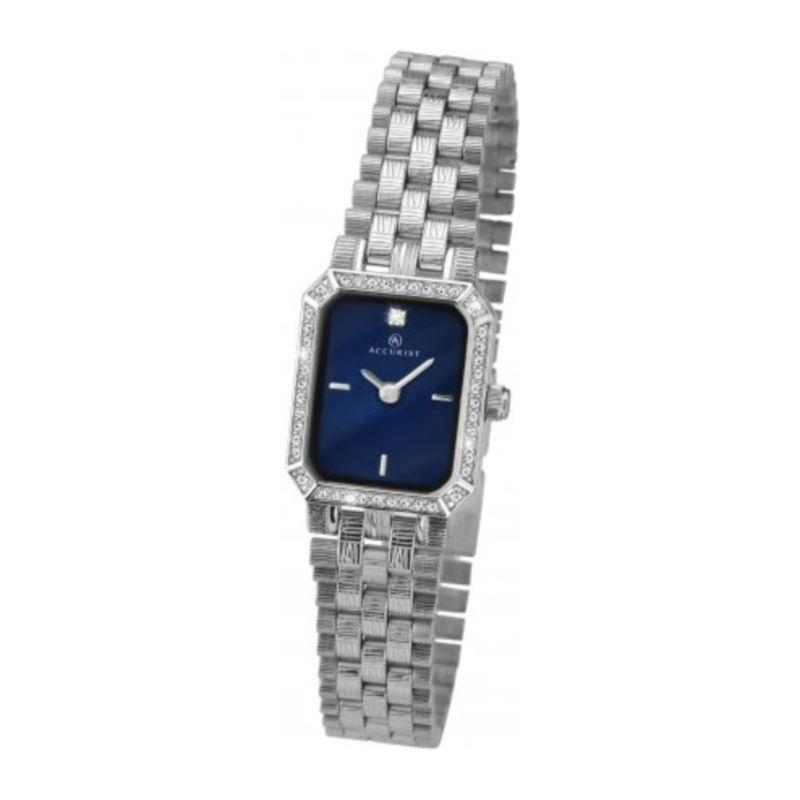 Accurist 8078 Ladies Watch with Blue Dial Watches ACCURIST