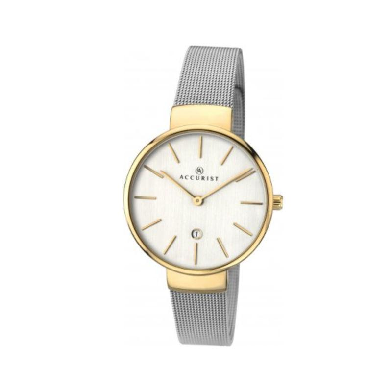 Accurist 8125 Ladies Watch with Mesh Strap Watches Accurist