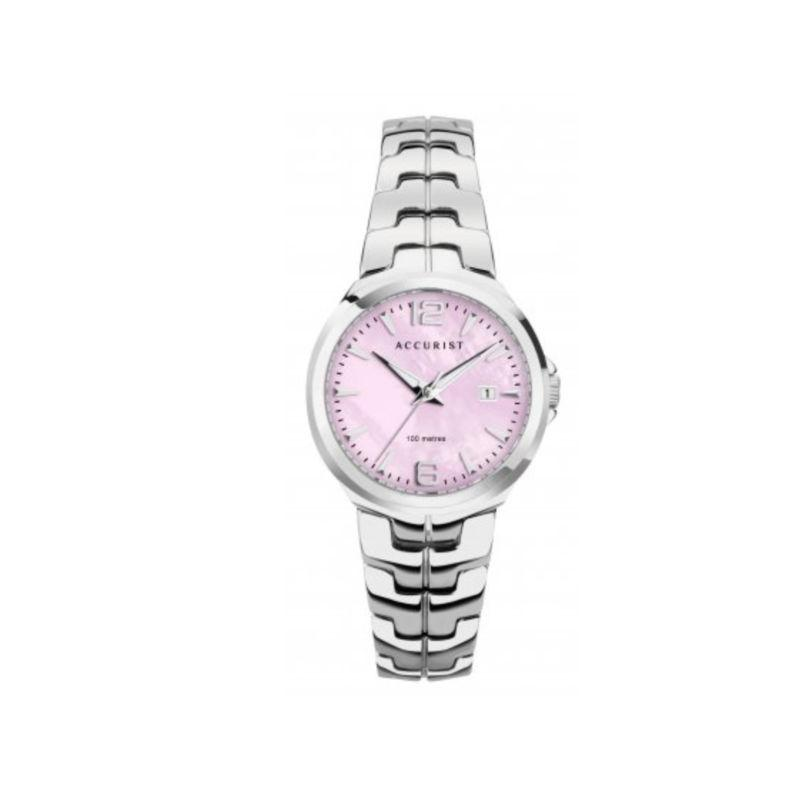 Accurist 8337 Watch with Pink Mother of Pearl Dial Watches ACCURIST