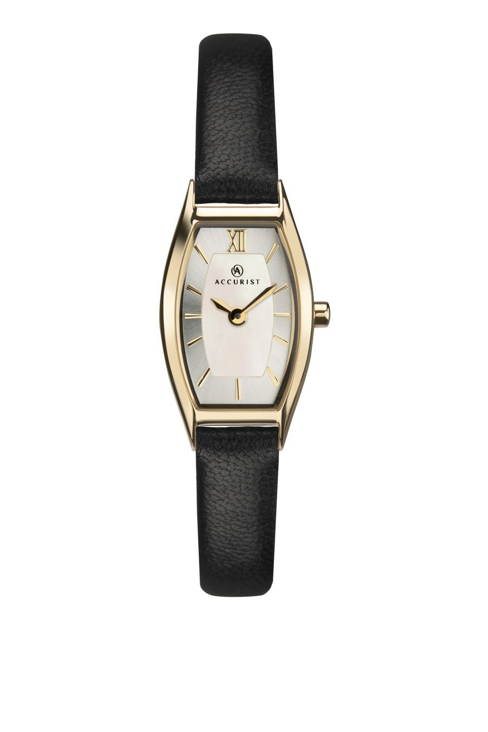 Accurist Ladies Watch with Black Strap 8275