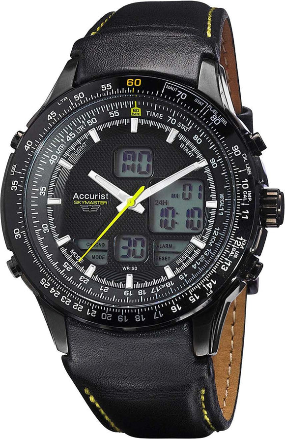 Accurist Men's Skymaster Watch MS930BY